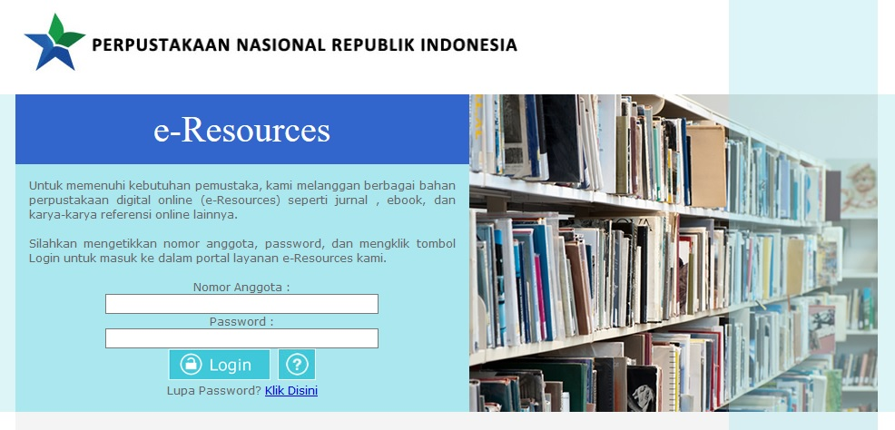 e-Resources Perpustakaan Nasional